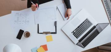 marketing desktop work